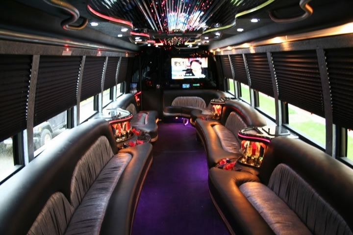 Cleveland party bus